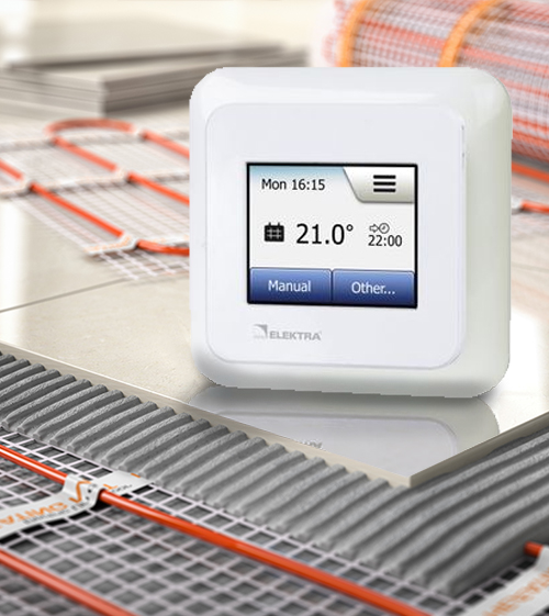 Underfloor heating TEMPERATURE CONTROLLERS